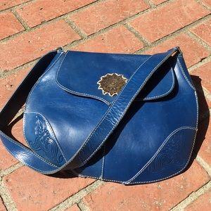United Colors of Benetton Vera Pelle leather bag
